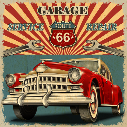 Vintage car posters free vector download (13,821 free vector) for.