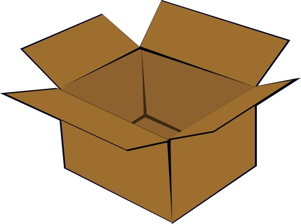 cardboard box clip art free vector in open office drawing svg svg
