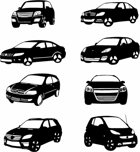 vector car silhouette free vector download 7 311 free vector for commercial use format ai. Black Bedroom Furniture Sets. Home Design Ideas
