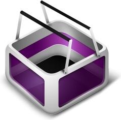 Cart Purple
