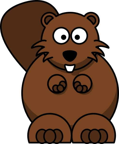 cartoon beaver clip art free vector in open office drawing svg rh all free download com clip art bereavement beaver clipart black and white