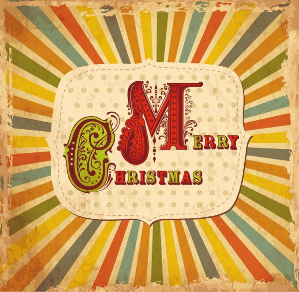 cartoon christmas new year cards vector