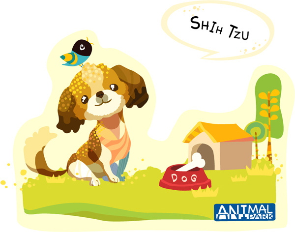 cartoon dogs animals