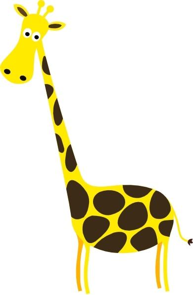 cartoon giraffe clip art free vector in open office drawing svg rh all free download com  cartoon giraffe clipart black and white