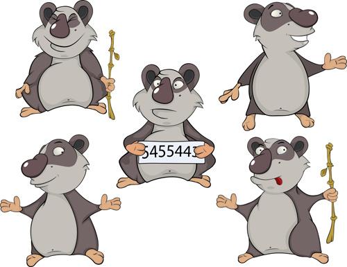 cartoon koala cute design vector