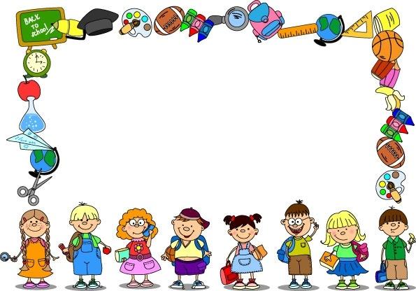 cartoon school supplies 03 vector