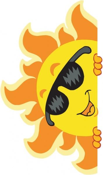cartoon summer pictures 03 vector