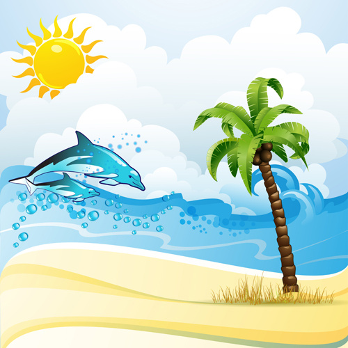 Cartoon pictures beach free vector download (18,808 Free ...
