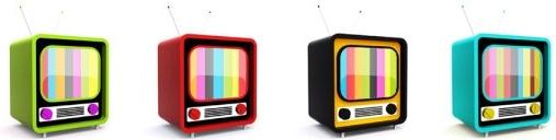 cartoon tv psd layered