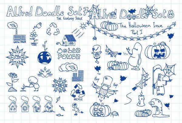cartoon vector clip art pen