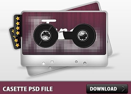 Casette PSD File
