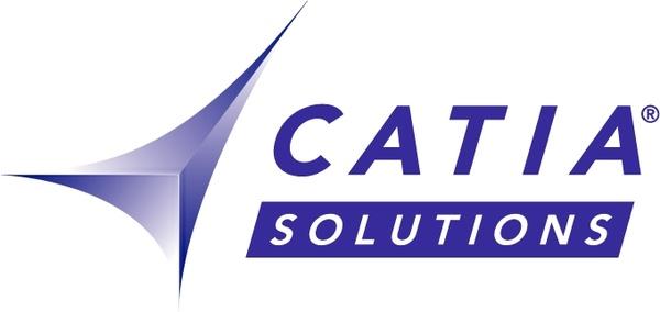 Catia solutions 1 Free vector in Encapsulated PostScript eps