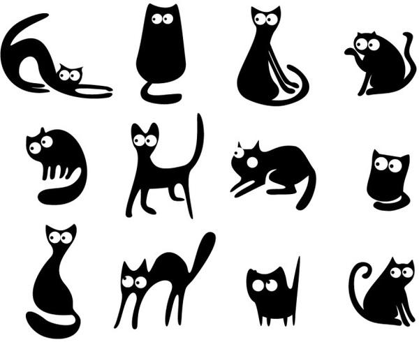 Cats Vector Free Vector In Encapsulated Postscript Eps Eps Vector Illustration Graphic Art Design Format Format For Free Download 197 61kb