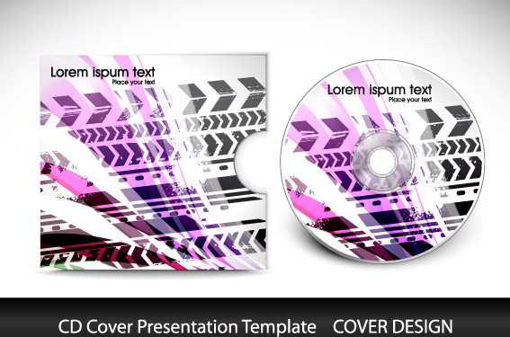Corel Draw Book Cover Template : Cd cover corel draw template free vector download