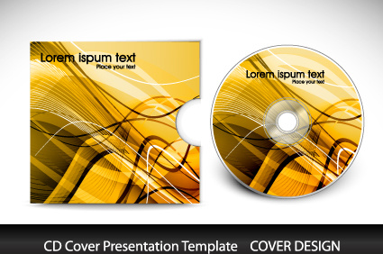 Cd cover presentation vector template Free vector in Encapsulated ...