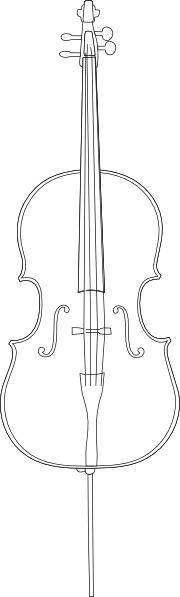 Cello Clip Art Free Vector 5401KB