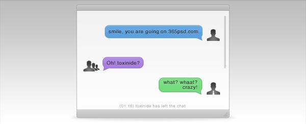 Chat Window Interface
