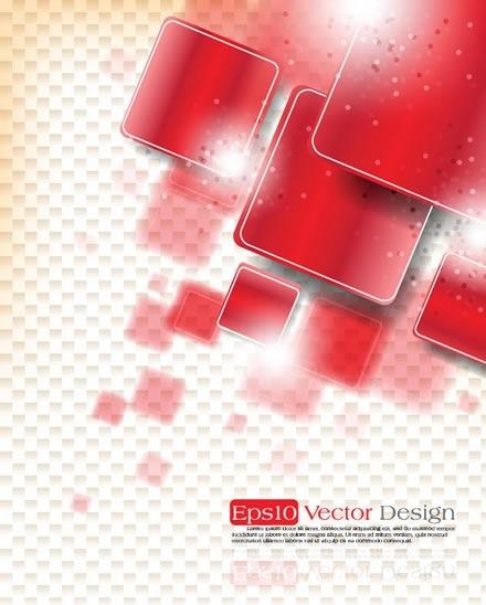 technology background shiny modern squares decor