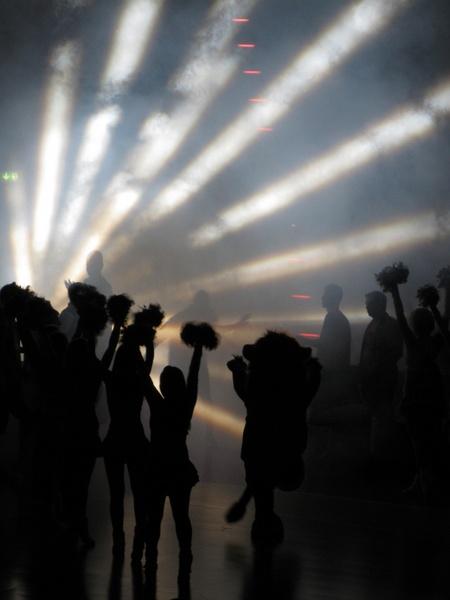 cheerleader fog light and shadow
