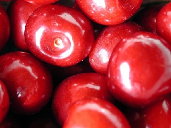 cherries fruit sweet