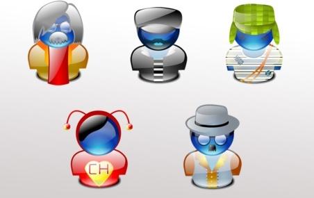 Chespirito characters lumina icons pack