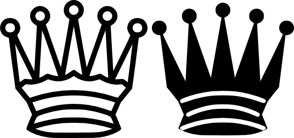 Chess Queen Crown Clip Art Free Vector In Open Office Drawing Svg