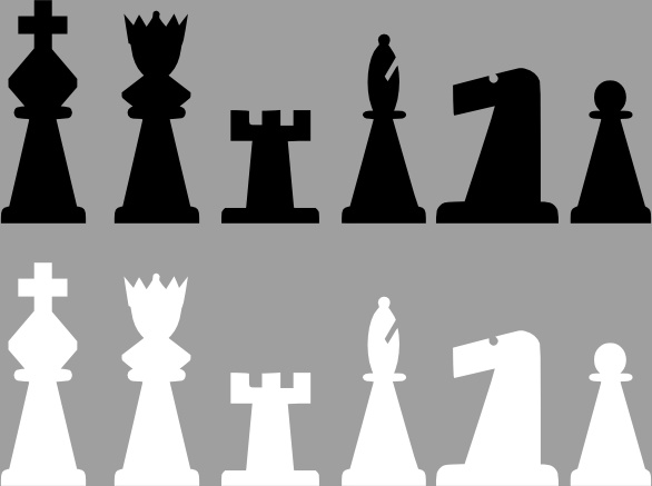 Chess Set Pieces Clip Art Free Vector In Open Office