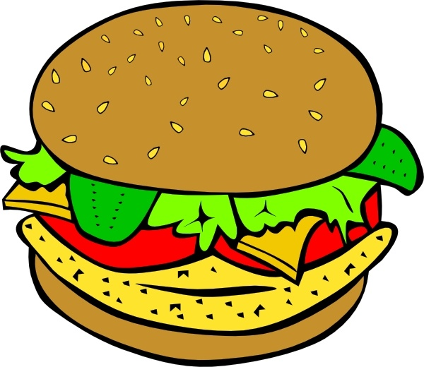 chicken burger clip art free vector in open office drawing svg rh all free download com bürger clipart burger clipart images