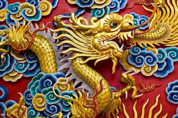 chinese dragon sculpture 06 hd pictures
