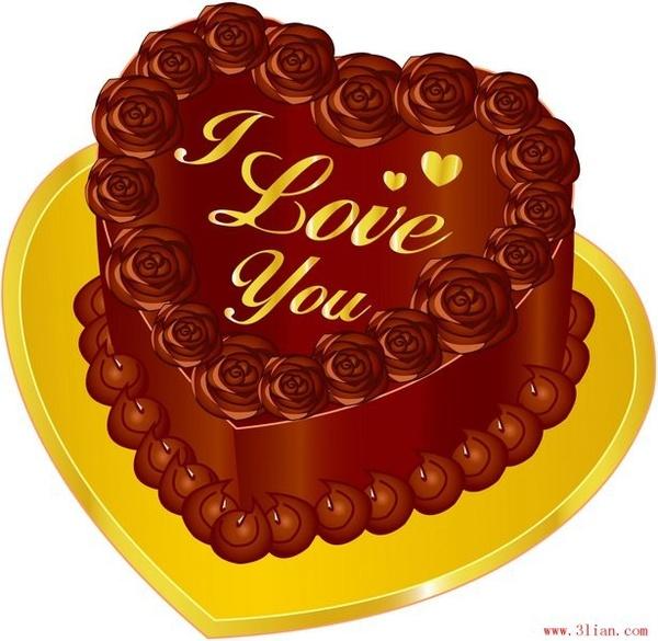 Chocolate cake vector Free vector in Adobe Illustrator ai (  ai