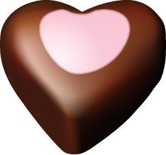 Chocolate hearts 10