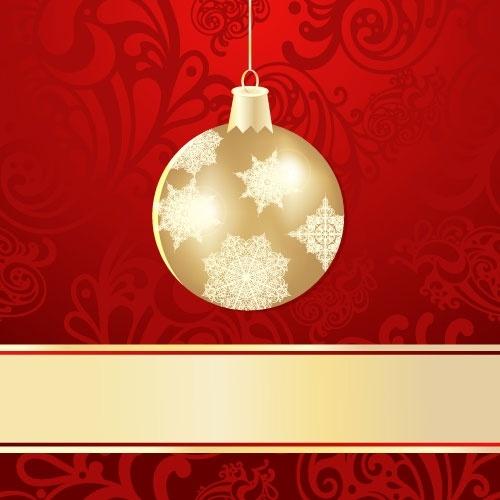 christmas ball background 01 vector
