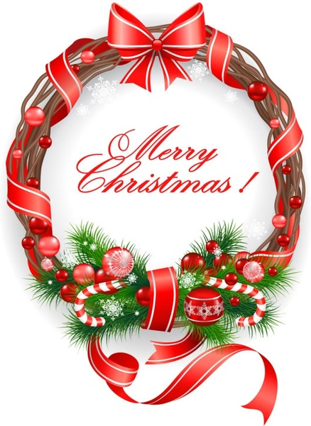 Christmas Decorations Vector Free Vector Download 29 487