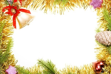 christmas decorative border picture