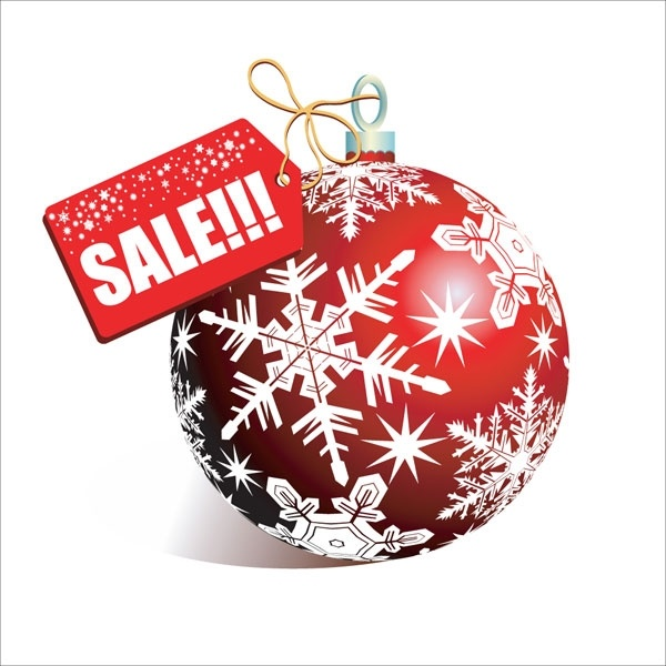 Christmas discount sales vector Free vector in Encapsulated ...