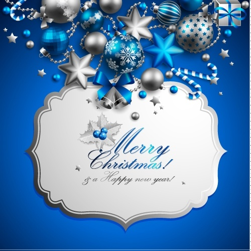 christmas elements background 02 vector