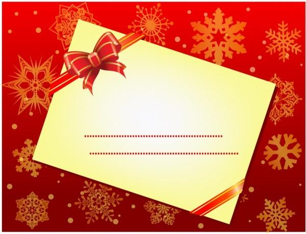 christmas envelope
