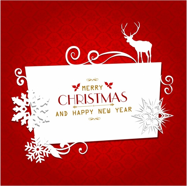 Christmas greeting card free vector in adobe illustrator ai christmas greeting card free vector 521mb m4hsunfo