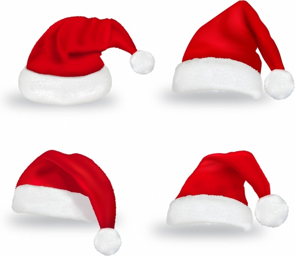 Christmas Hat Vector Png.Christmas Hat Free Vector In Adobe Illustrator Ai Ai