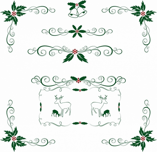 Christmas Holly ornament