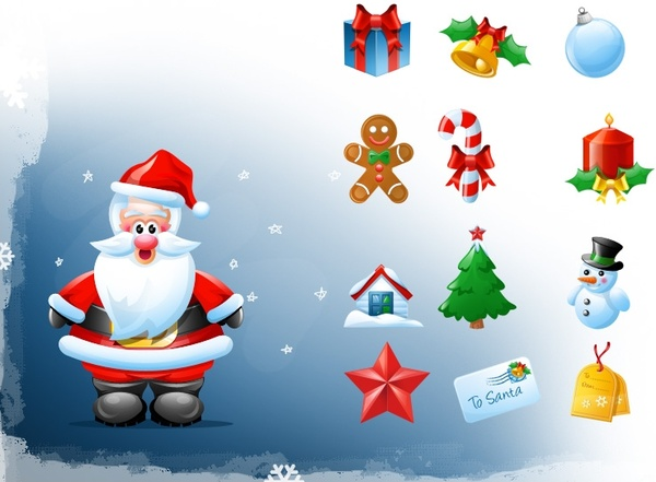 Christmas icons icons pack