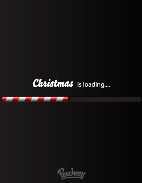 christmas loading bar