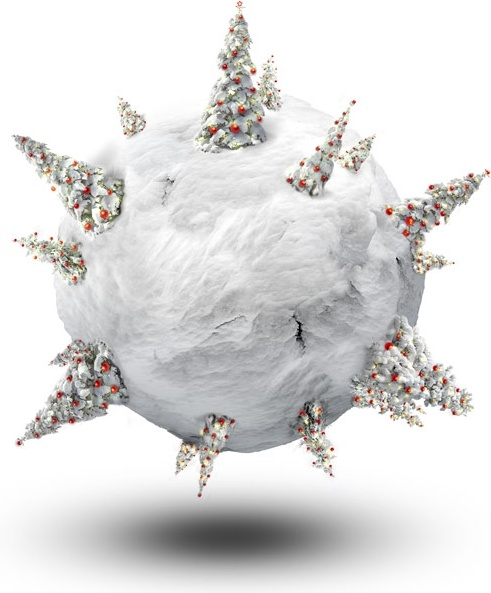 christmas polar coordinate 7 hd pictures