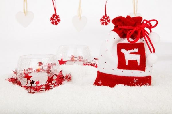 christmas sack decoration