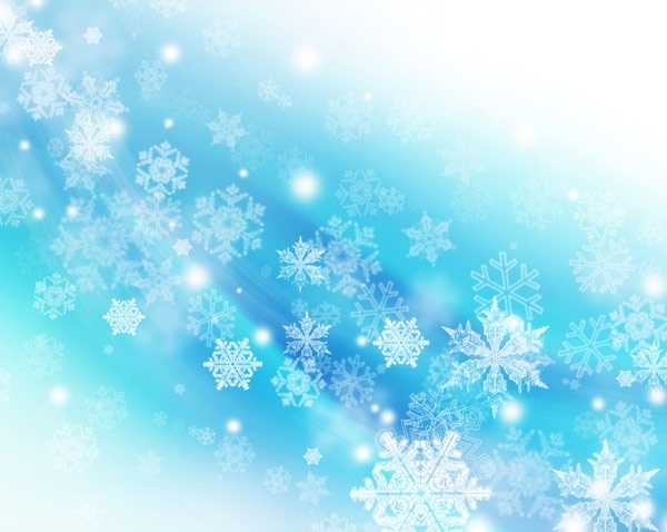 christmas snowflake fantasy background 04 hd pictures