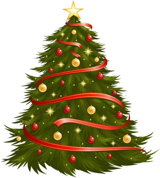 Christmas Tree Vector Image.Christmas Tree 05 Vector Free Vector In Encapsulated