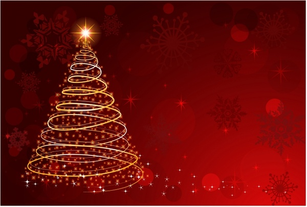 Christmas free vector download 6 880 free vector for commercial use format ai eps cdr svg - Tree images free download ...
