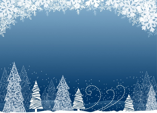 Christmas Tree Backgrounds.Christmas Tree Background Free Vector In Adobe Illustrator