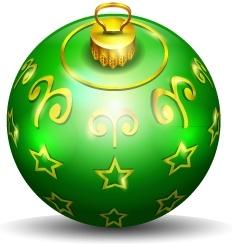 Christmas tree ball 2