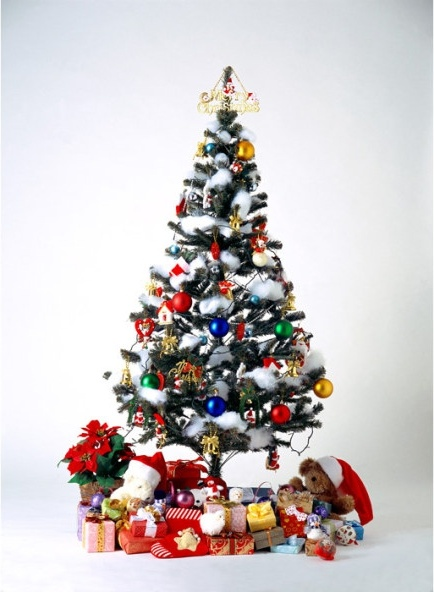 christmas tree covered with gift free stock photos in image format
